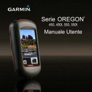 Garmin Oregon® 450t - Manuale Utente