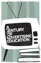 A Century of Advertising Education - American Academy of Advertising