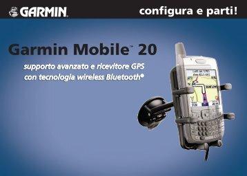 Garmin Garmin Mobile 20 - configura e parti