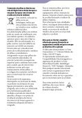 Sony ICD-UX523 - ICD-UX523 Consignes d'utilisation Portugais - Page 6