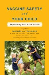 VACCINE SAFETY YOUR CHILD