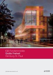 IGB Fondsimmobilie Große Freiheit Hamburg St. Pauli - IGB AG