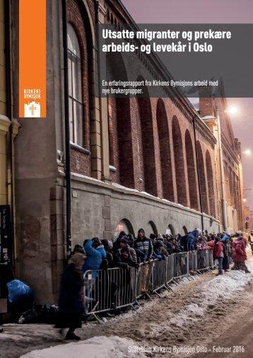 Utsatte migranter og prekære arbeids- og levekår i Oslo