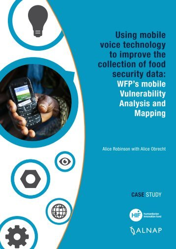 Using mobile voice technology to improve the collection of food security data