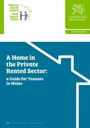 A Home in the Private Rented Sector