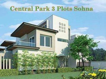 Central Park 3 Plots Sohna