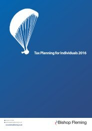 Tax Planning for Individuals 2016