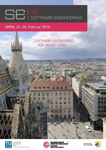 SE 2016: Software Engineering für Smart Cities