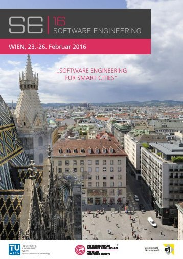 SE 2016: Software Engineering für Smart Cities