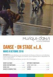 danse - on stage L.A