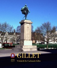 Gillet 2006 - Carlstads-Gillet
