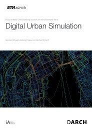 Digital Urban Simulation: Fall semester 2015