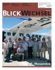 z.B. Mosambik - Liechtensteinischer Entwicklungsdienst