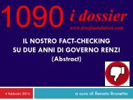 1090-IL-NOSTRO-FACT-CHECKING-SU-DUE-ANNI-DI-GOVERNO-RENZI-Abstract
