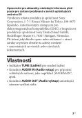Sony SRF-18 - SRF-18 Consignes d'utilisation Slovaque - Page 5