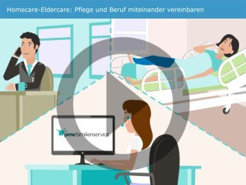 Homecare-Eldercare: Pflege und Beruf vereinbaren