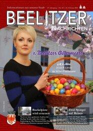 Beelitzer Nachrichten - Februar 2016