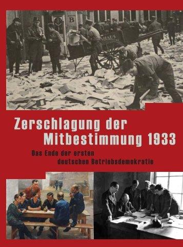Milert, Tschirbs 2013 - Zerschlagung der Mitbestimmung 1933