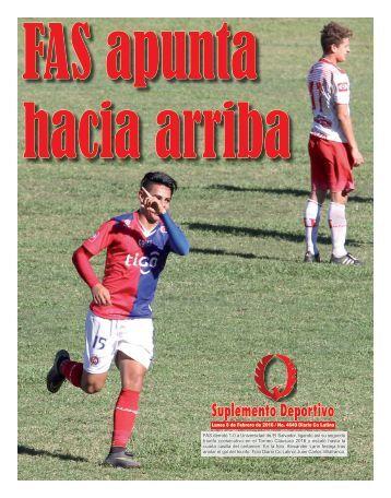 Suplemento Deportivo 8 de Febrero de 2016
