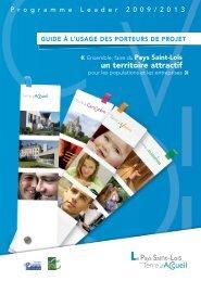 Guide Leader porteurs de projet - Le Pays Saint-Lois