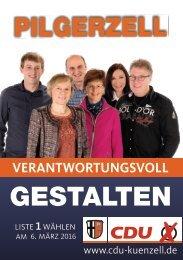 Kandidatenblatt Pilgerzell