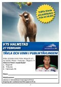 V75 HALMSTAD - Page 7