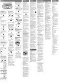 Sony ZS-RS70BT - ZS-RS70BT Consignes d'utilisation Tchèque - Page 2