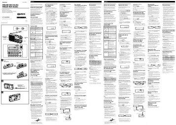 Sony ICF-M33RDS - ICF-M33RDS Consignes d'utilisation Portugais