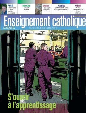 ECA 307 octobre 2006 - Enseignement Catholique
