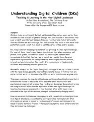 Understanding Digital Children (DKs) - Educational Origami