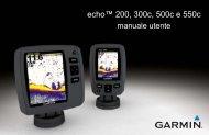 Garmin echo™ 200 - Manuale Utente