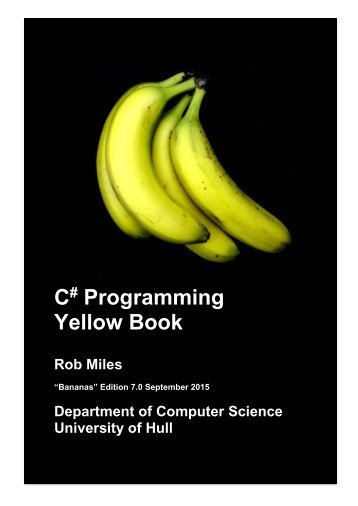 C Programming Yellow Book