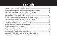 Garmin nüvi® 65 - Informazioni importanti sulla sicurezza e sul prodotto
