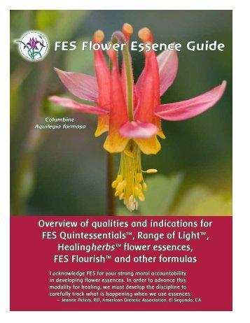 FES Flower Essence Guide