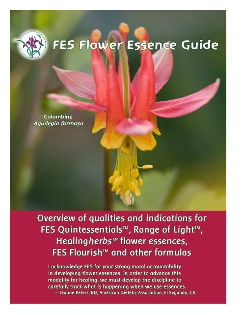 Fes Flower Essence Guide