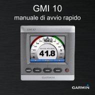 Garmin GMI™ 10 Marine Instrument (new) - manuale di avvio rapido