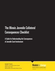 The Illinois Juvenile Collateral Consequences Checklist