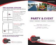 PARTY & EvENT - Rental Stop