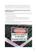 WORKING WITH ASBESTOS? - Page 5