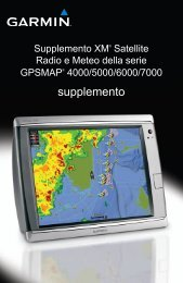 Garmin GDL 40, U.S. - Supplemento