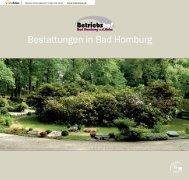 Bestattungen in Bad Homburg