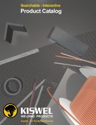Kiswel Welding Products Interactive Catalog