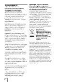Sony ZS-R100CP - ZS-R100CP Consignes d'utilisation Portugais - Page 2