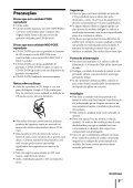 Sony ZS-R100CP - ZS-R100CP Consignes d'utilisation Portugais - Page 5