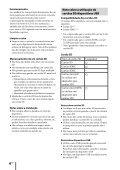 Sony ZS-R100CP - ZS-R100CP Consignes d'utilisation Portugais - Page 6