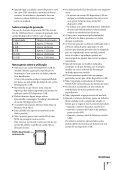 Sony ZS-R100CP - ZS-R100CP Consignes d'utilisation Portugais - Page 7