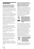 Sony ZS-R100CP - ZS-R100CP Consignes d'utilisation Espagnol - Page 2