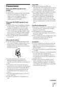 Sony ZS-R100CP - ZS-R100CP Consignes d'utilisation Espagnol - Page 5