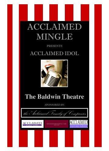 ACCLAIMED MINGLE - Acclaimed Home Care