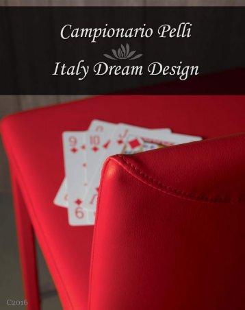 Campionario pelli Italy Dream Design - C2016